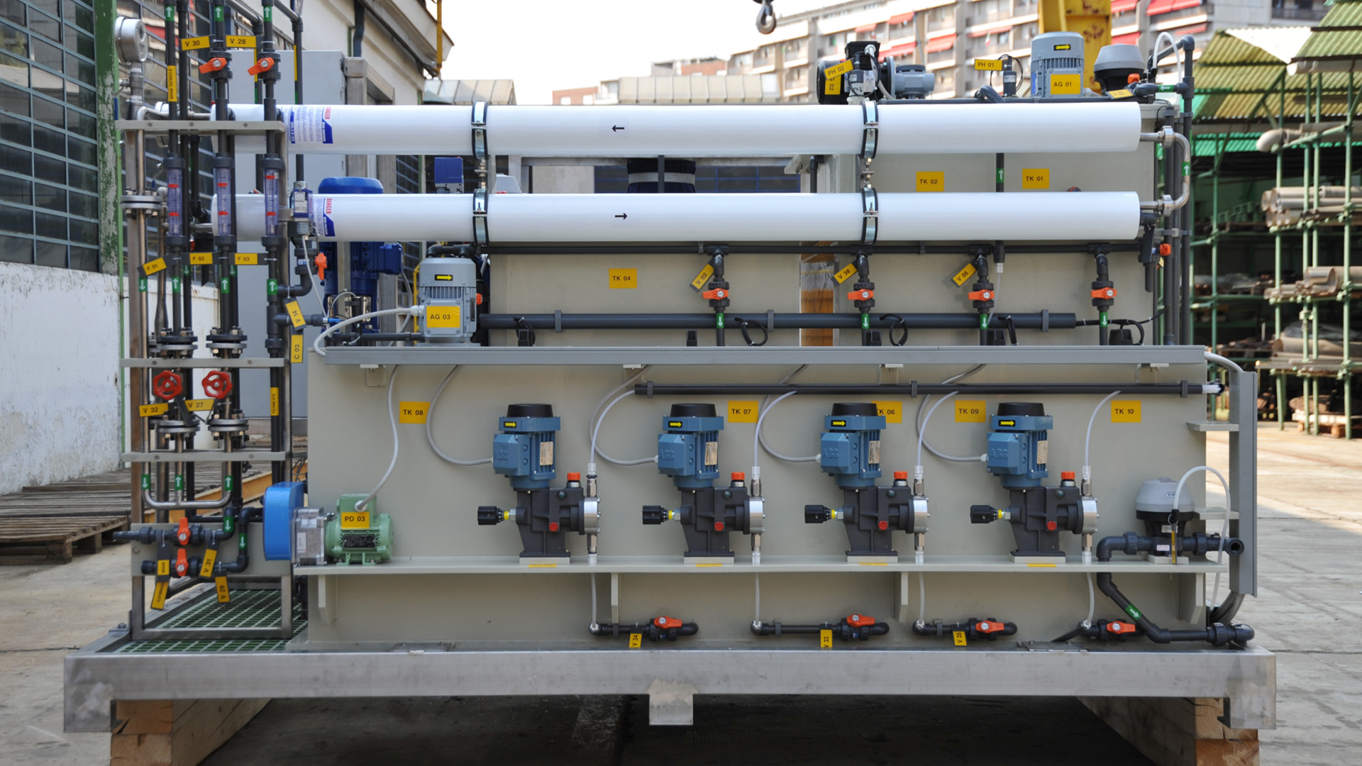 Reverse Osmosis System 01 by SCAM Technology