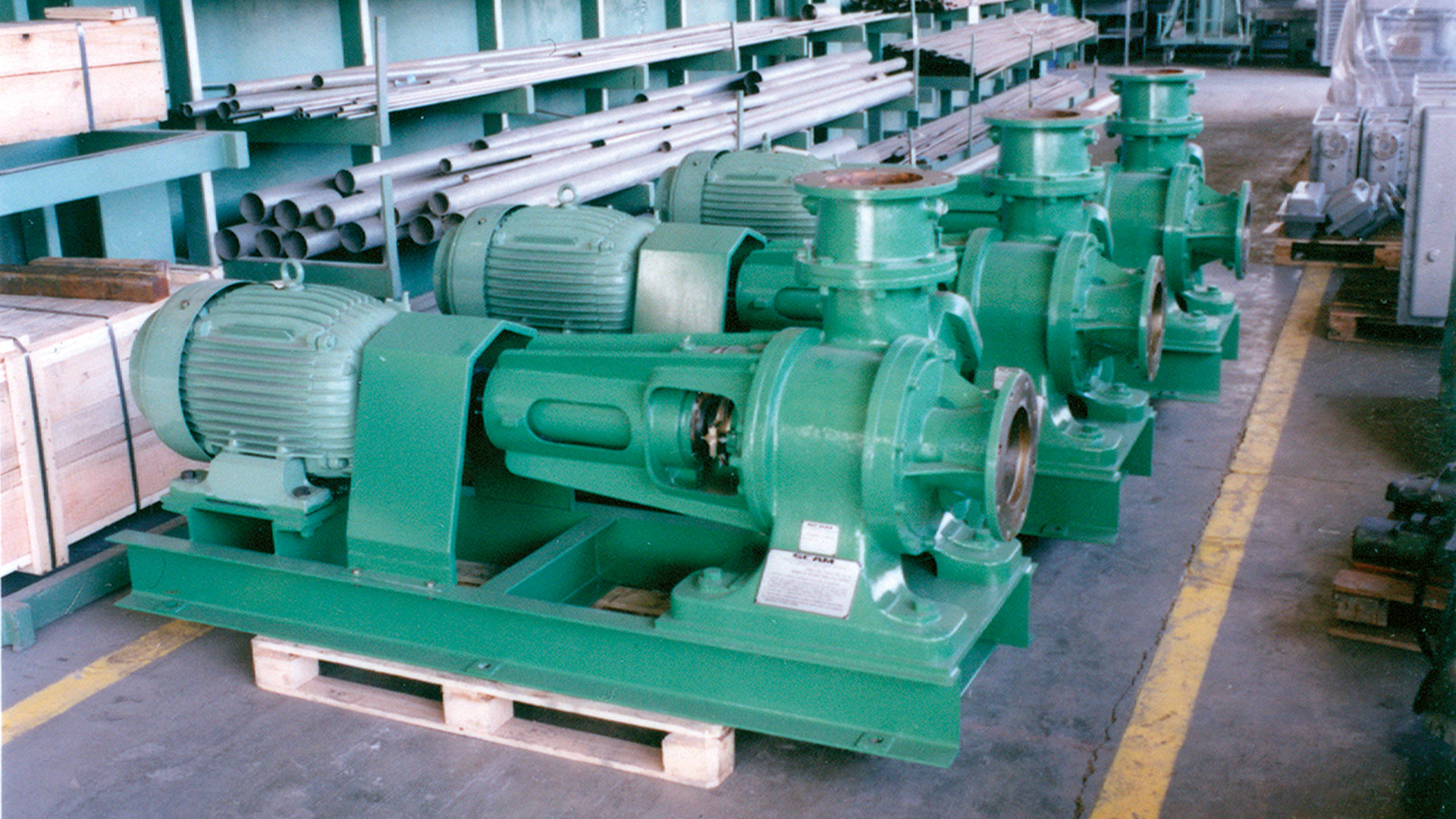 Vacuum Pumps 07 by SCAM Technology