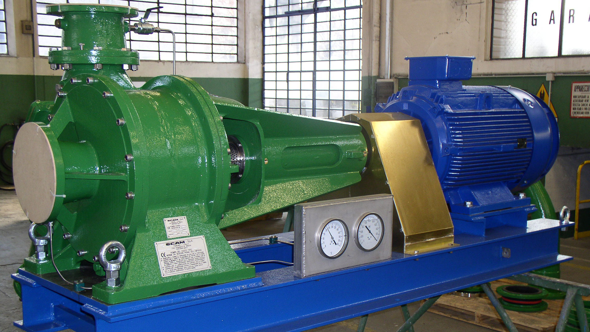 Vacuum Pumps 10 by SCAM Technology