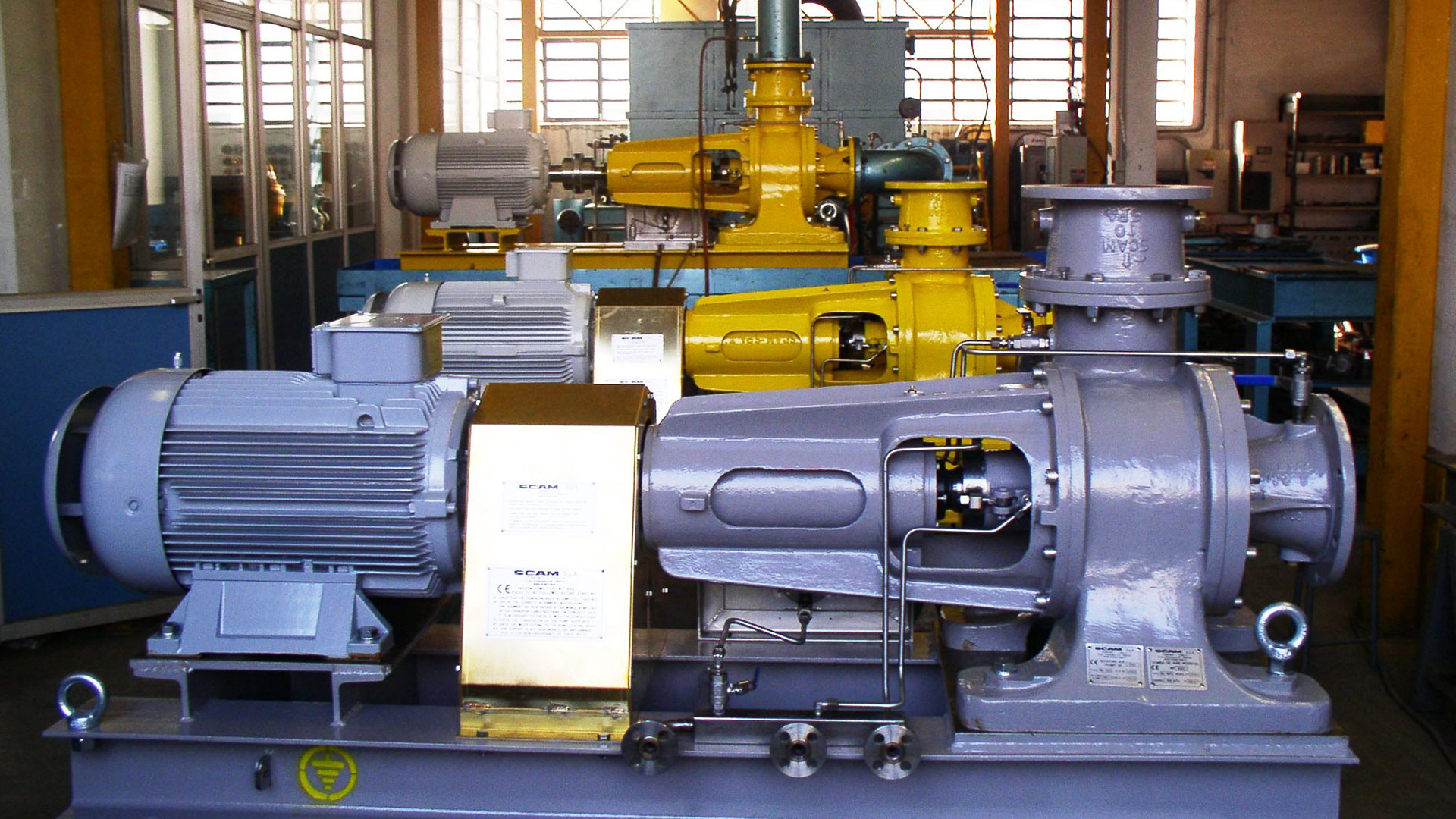 Vacuum Pumps 11 by SCAM Technology