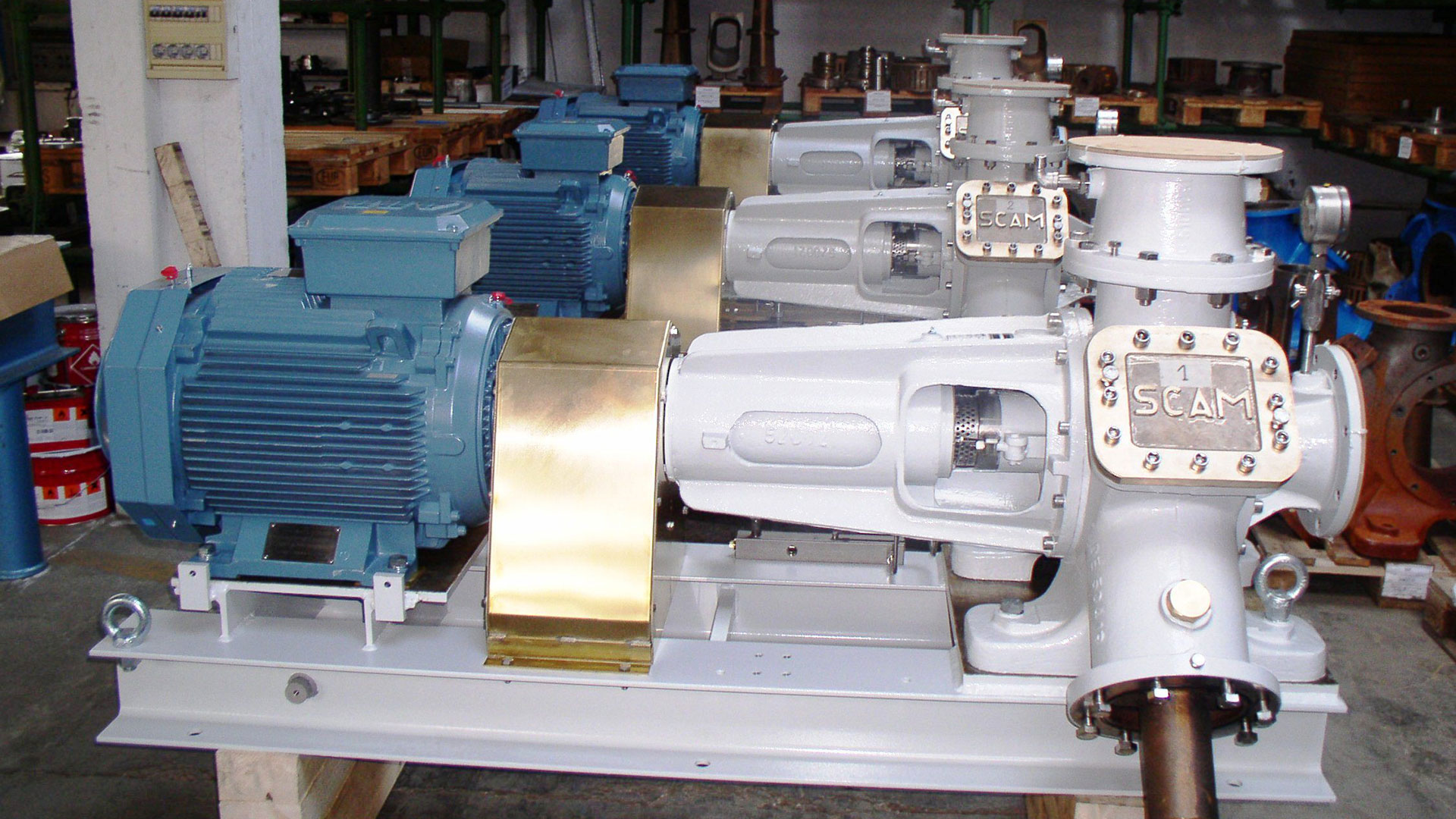 Vacuum Pumps 12 by SCAM Technology